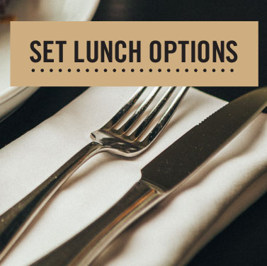 SET LUNCH OPTIONS